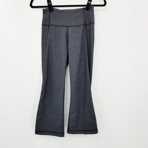 Lululemon Gather & Crow Grey Crops Size 4